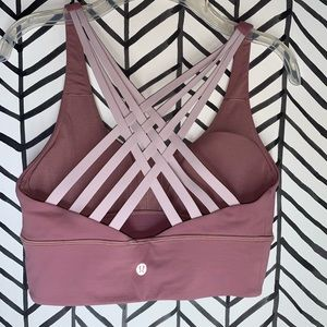 Lululemon free to be moved bra quicksand size 6